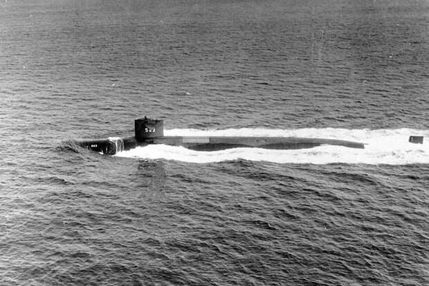 Рассекречена причина гибели американской подлодки USS Thresher