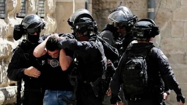 Полиция Израиля арестовала более 370 участников беспордков