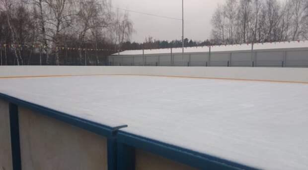 На Привольной начал работать каток с искусственным льдом