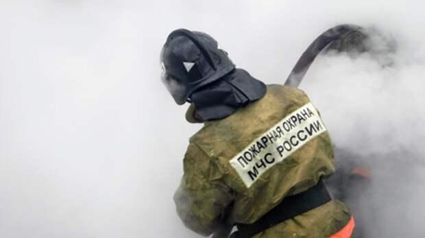 МЧС РФ сообщило о локализации пожара в двухэтажном доме в Крыму