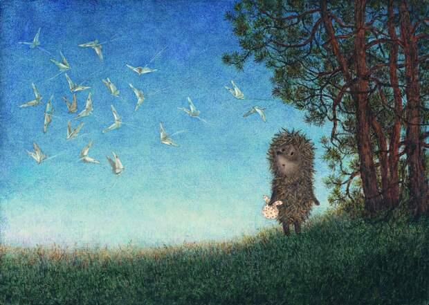 Выставка Юрия Норштейна и Франчески Ярбусовой «Снег на траве»