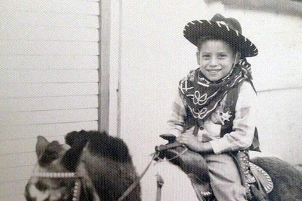 Дэнни Трехо в детстве