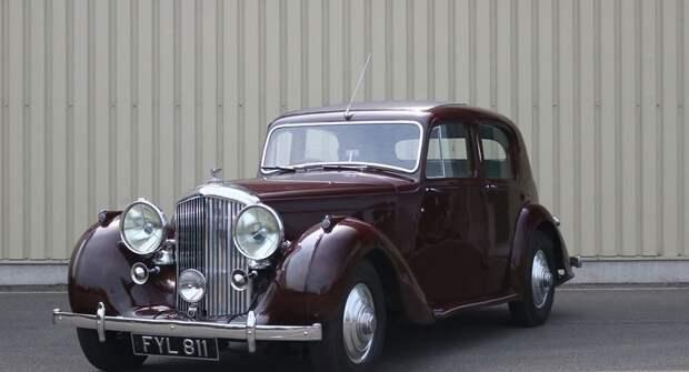 Bentley Mark VI: Легендарный автомобиль с интересной историей