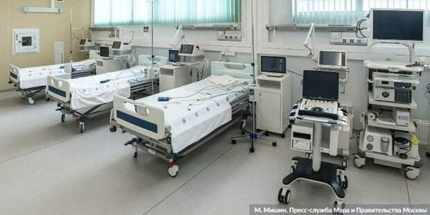 Ракова: Число госпитализаций с COVID-19 за неделю возросло на 30%. Фото: М. Мишин mos.ru