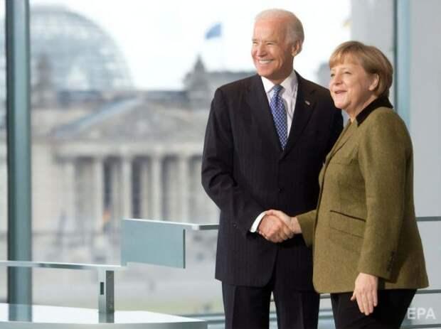 Меркель рассказала обобсуждении «Северного потока— 2» сБайденом