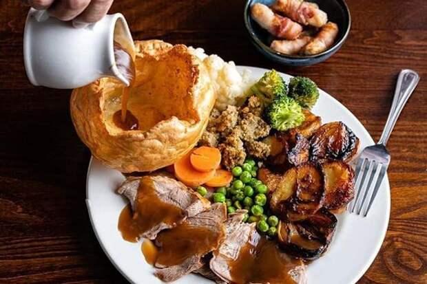 Национальные британские блюда