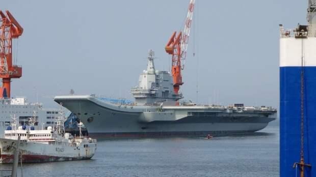 Габариты китайского авианосца Type 003 измерили из космоса