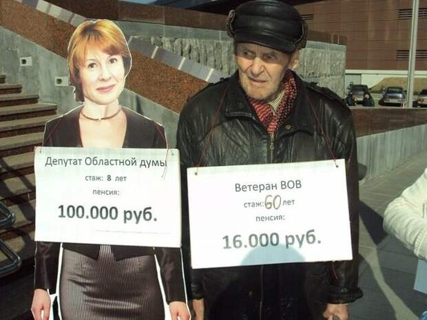 Кому на пенсию в России жить хорошо.