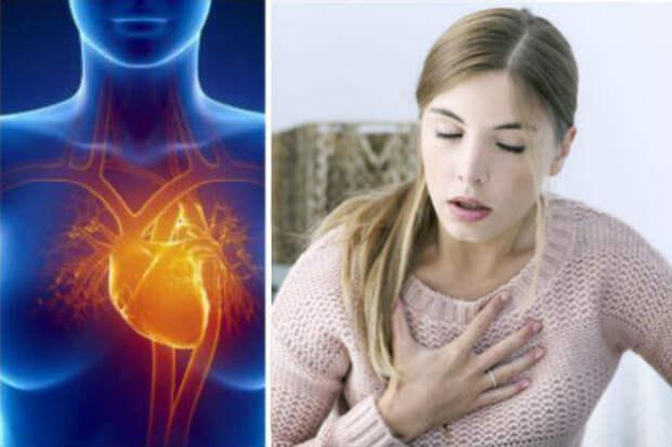 Сердечный приступ у женщин: 7 симптомов, которые часто остаются незамеченными