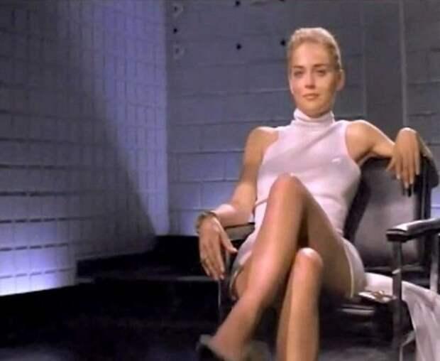 """Кадр из фильма """"Основной инстинкт"""" 1992 год"""
