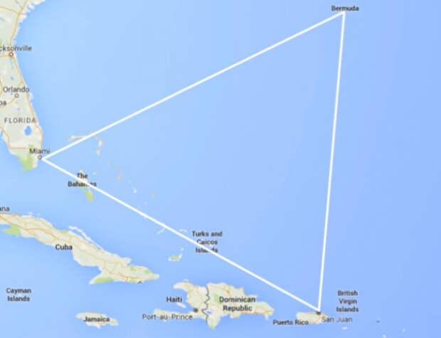 Топ-10 лучших теорий, объясняющих феномен Бермудского треугольника