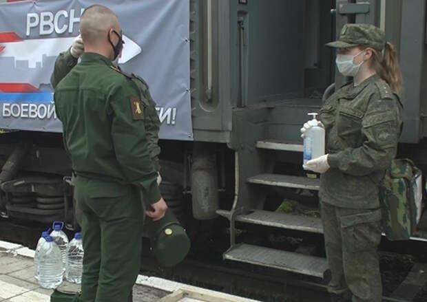 Воинские эшелоны доставят выпускников Межвидовых региональных учебных центров в соединения и воинские части РВСН