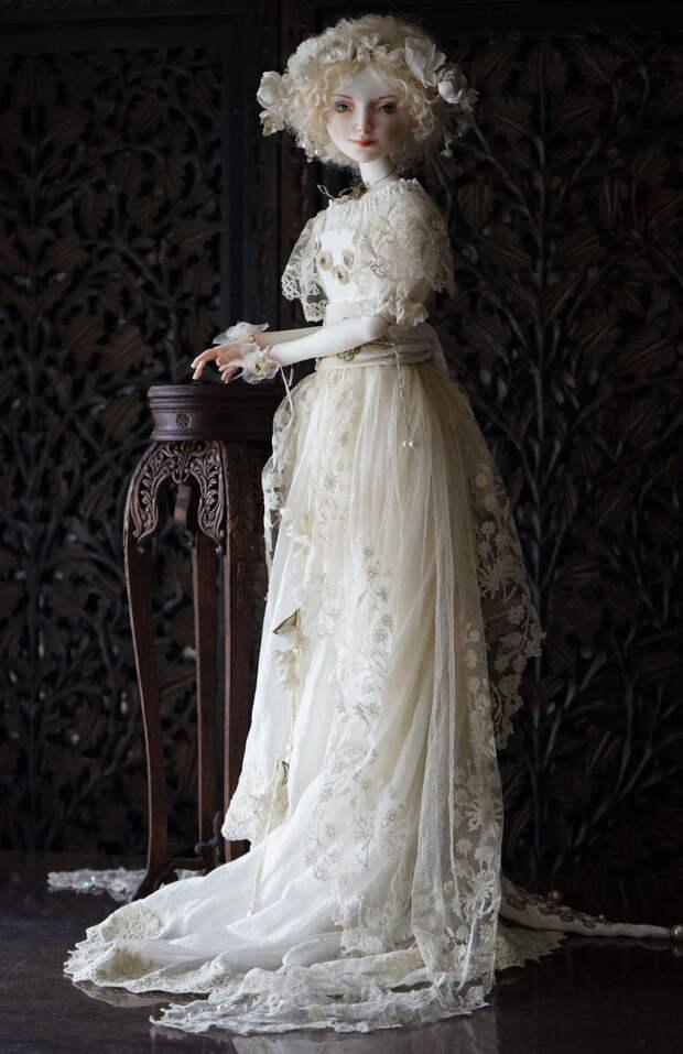 Фарфоровые грезы: восхитительные куклы Оксаны Сахаровой