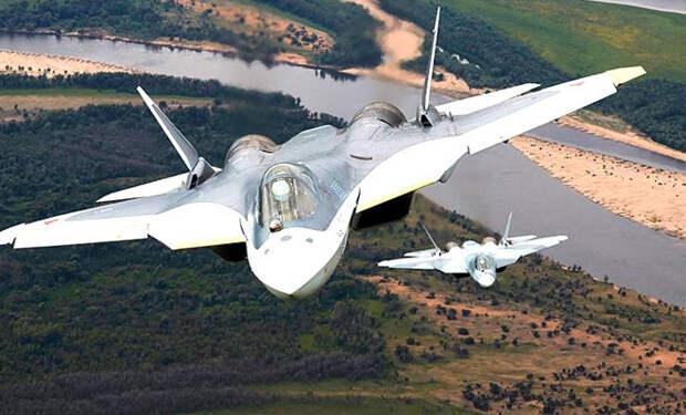 Моментальный разворот Су-57 по горизонтали: пилоты показывают недостижимые ранее маневры