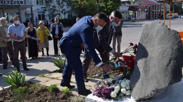 День памяти жертв депортации народов Крыма: 18 мая в Джанкое прошли памятные мероприятия