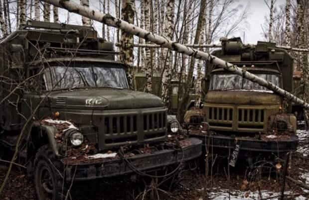 Кладбище военной техники: смотрим место, куда отправляют старые танки и машины