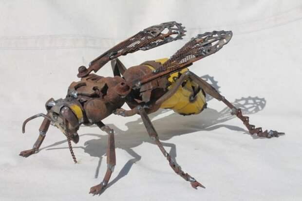 Скульптуры из металла от Джей Кей Брауна (14 фото)