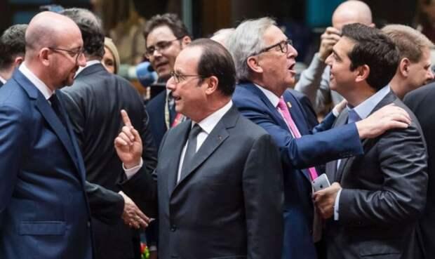 Корабль ЕС рыщет в море международной политики и может начать черпать воду бортом