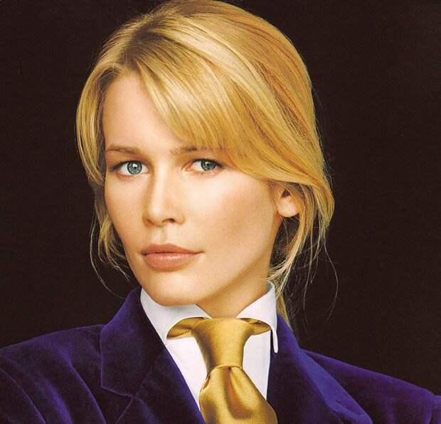 Как в молодости выглядела Клаудия Шиффер