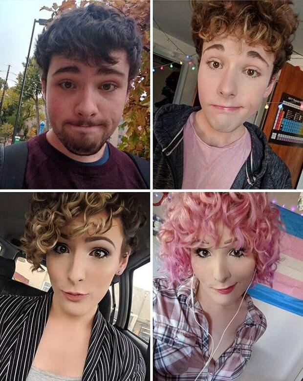 Превращение из парня в девушку: Тейлор Рэйвс уже 2 года документирует свой трансгендерный переход