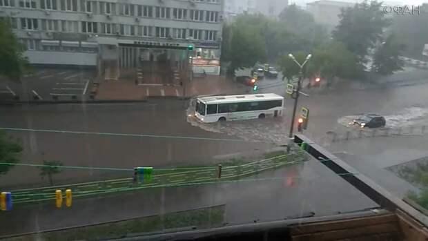 Красноярск вслед за Ялтой затопило водой
