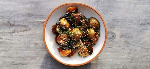 Глазированный картофель. Азиатский десерт для избранных 1