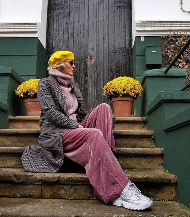 Стильные бабушки в вязаных вещах – возраст им нипочем, они умеют одеваться