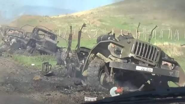 В Армении: Войска Азербайджана начали новое наступление в зоне конфликта