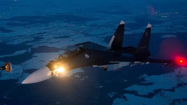 Пилот F-35 итальянского подразделения угодил к психологу после встречи с Су-30СМ