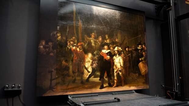 Искусственный интеллект вернул первоначальный вид картине Рембрандта