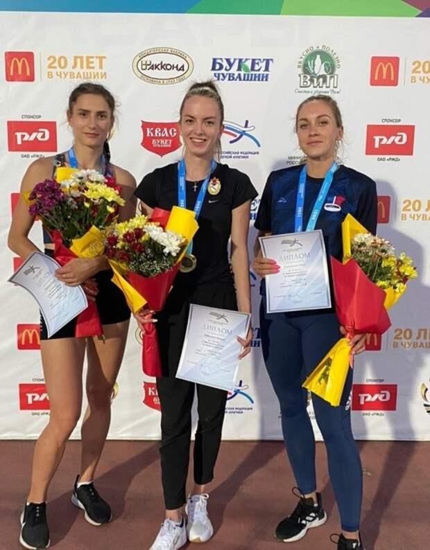 Спортсменка из Удмуртии стала чемпионкой России в беге на стометровку с барьерами