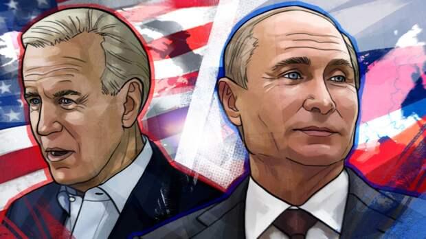Песков сообщил о завершении переговоров Путина и Байдена в узком составе
