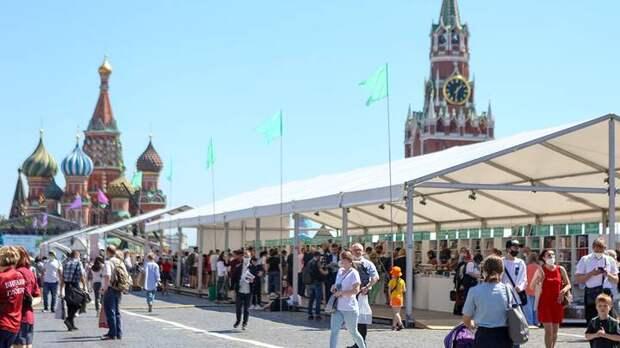 Фестиваль «Красная площадь» в Москве посетили 50 тысяч человек
