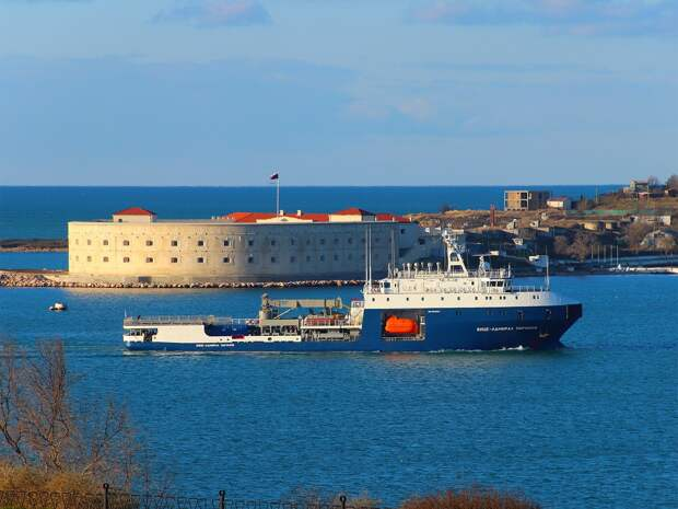Построенный в Нижнем Новгороде танкер «Вице-адмирал Паромов» вошел в состав Черноморского флота