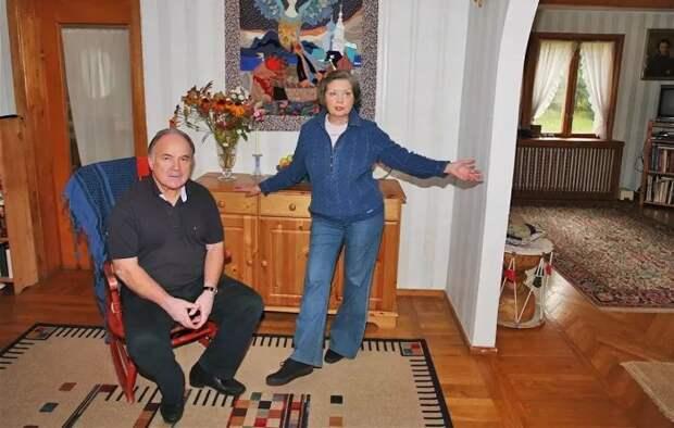Николай Губенко и Жанна Болотова. / Фото: www.open.az