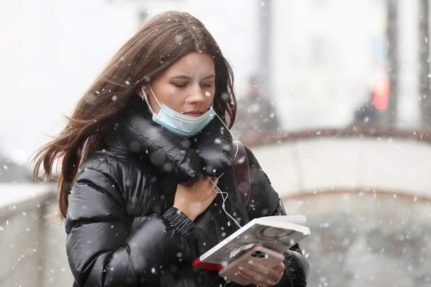 Антициклон вернет в Москву снег и заморозки