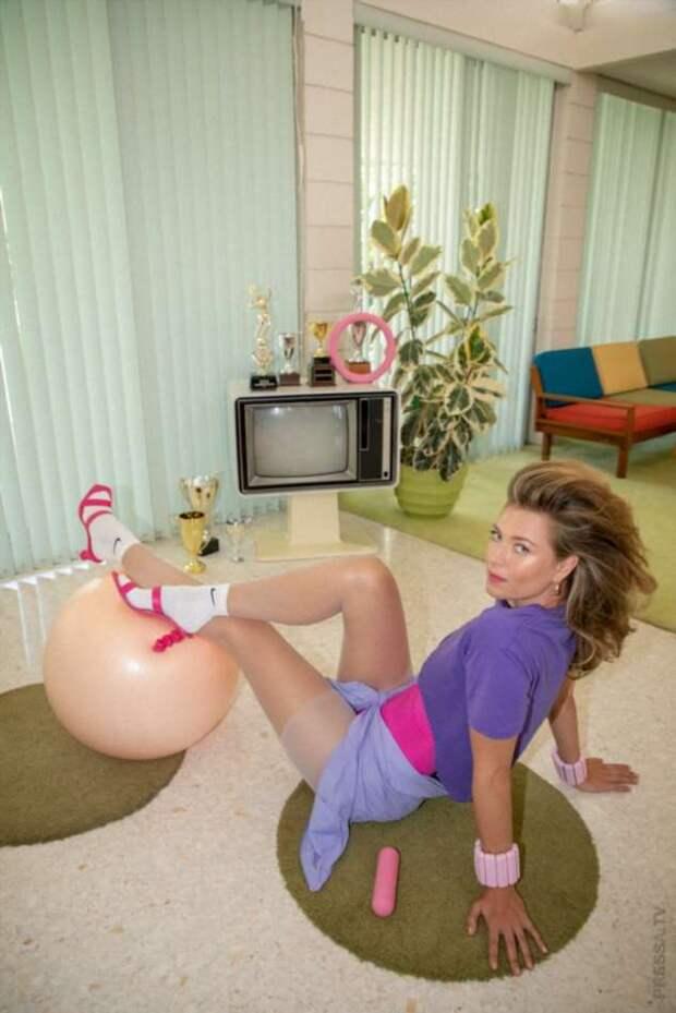 Мария Шарапова в ретро-фотосессии для бренда Bala