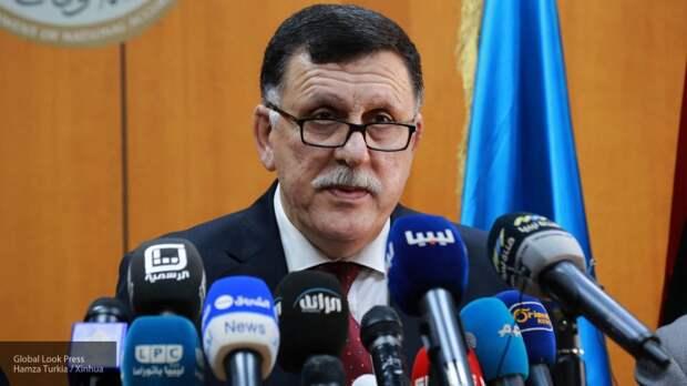 Соглашение между Эрдоганом и главой террористического ПНС Сарраджем назвали изменой Ливии