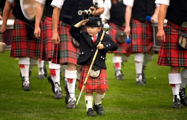 Зачем горцу юбка, или Почему шотландские мужчины носят килт