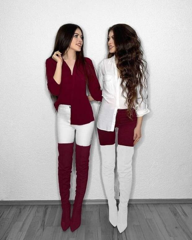 Эти близняшки покорят многих
