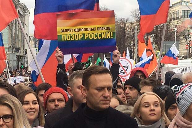 Каждый пришел на марш решать свои интересы Фото: СОЦСЕТИ