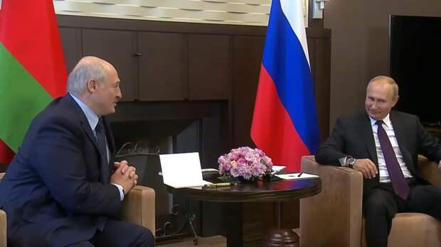Путин и Лукашенко обсудили перспективы экономического взаимодействия