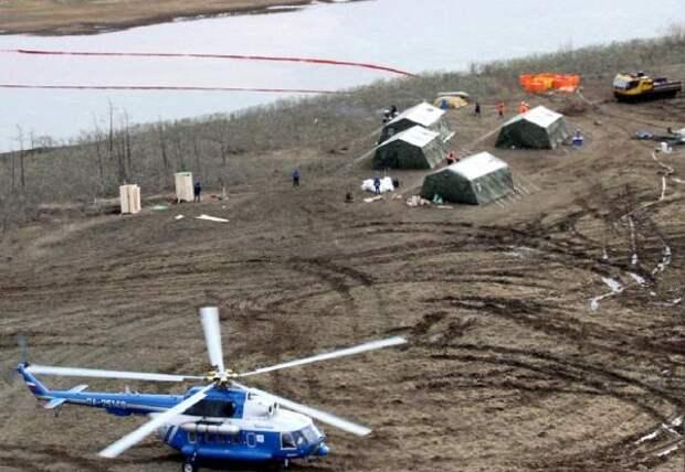 Москва узнала об аварии в Норильске через полчаса