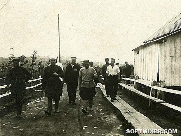 Быт заключённых ГУЛАГа на фотографиях