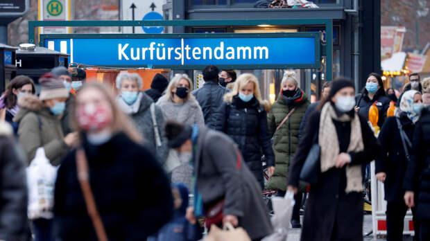 В Германии за сутки выявили 6922 случая коронавируса