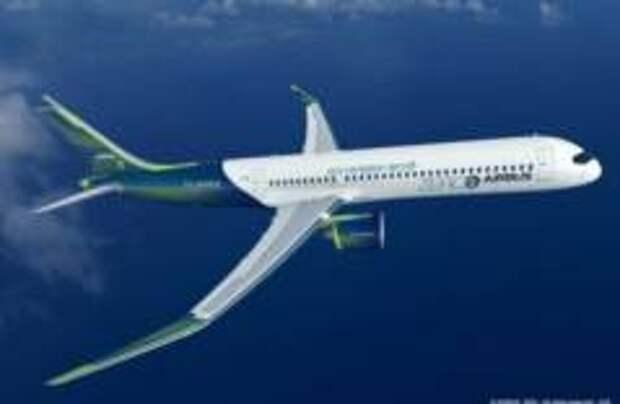 Airbus представила три самолета на водороде