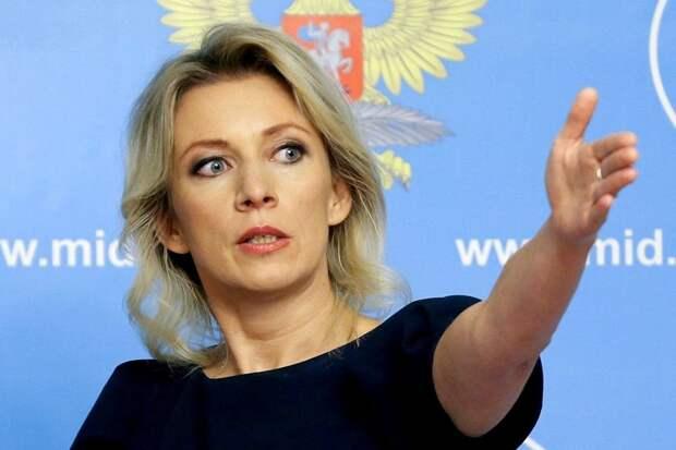 Захарова назвала снос бюста Жукова «вызовом» для Зеленского