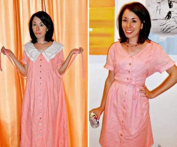 Дизайнер покупает одежду в секонд-хенде и шьёт невероятные наряды