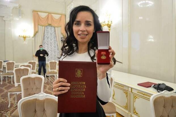 Заместитель главного редактора «АиФ» получила премию Москвы в области СМИ