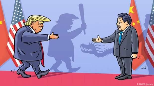 Дональд Трамп анонсировал наступление США на Китай в рамках торговой войны